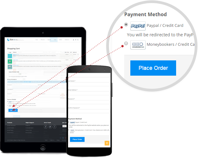 Payment Methods Support