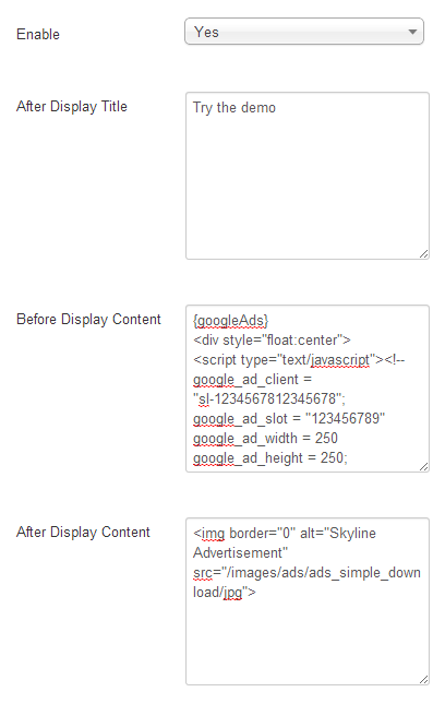 Sl content ads categories options j30.png