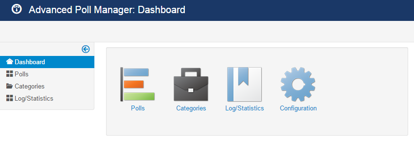 advpoll dashboard view