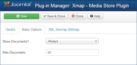 Extcms xmap plugin basic options.png