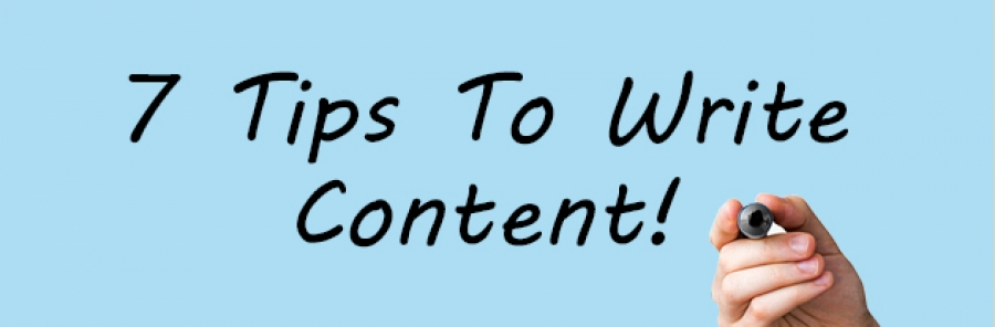 7 Tips Help You Write Great Content
