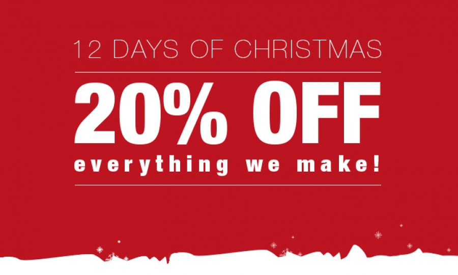 12 Days of Mega Sales