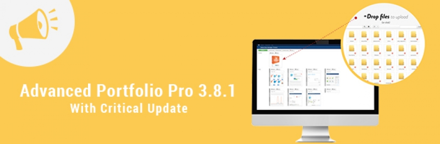 [Announcement] Advanced Portfolio Pro 3.8.1 Released on ExtStore