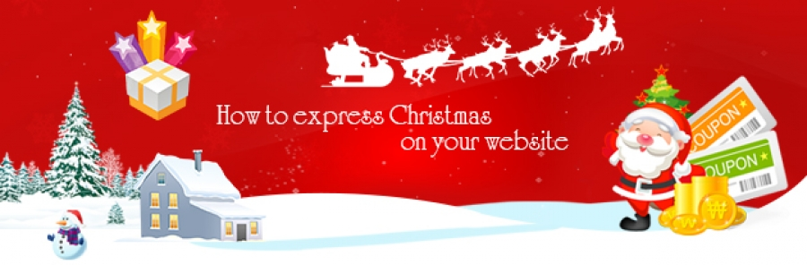 How to express Christmas on your site
