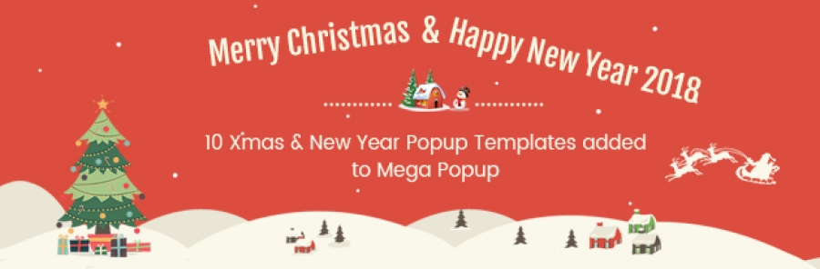 10+ Free Popup Templates For Your Xmas Decoration