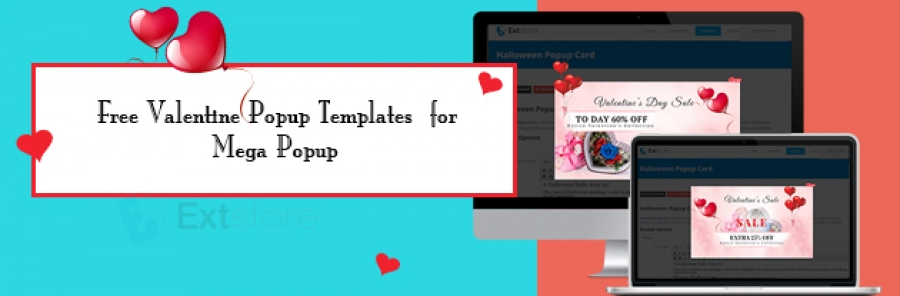 Free Valentine Popup Templates for Mega Popup